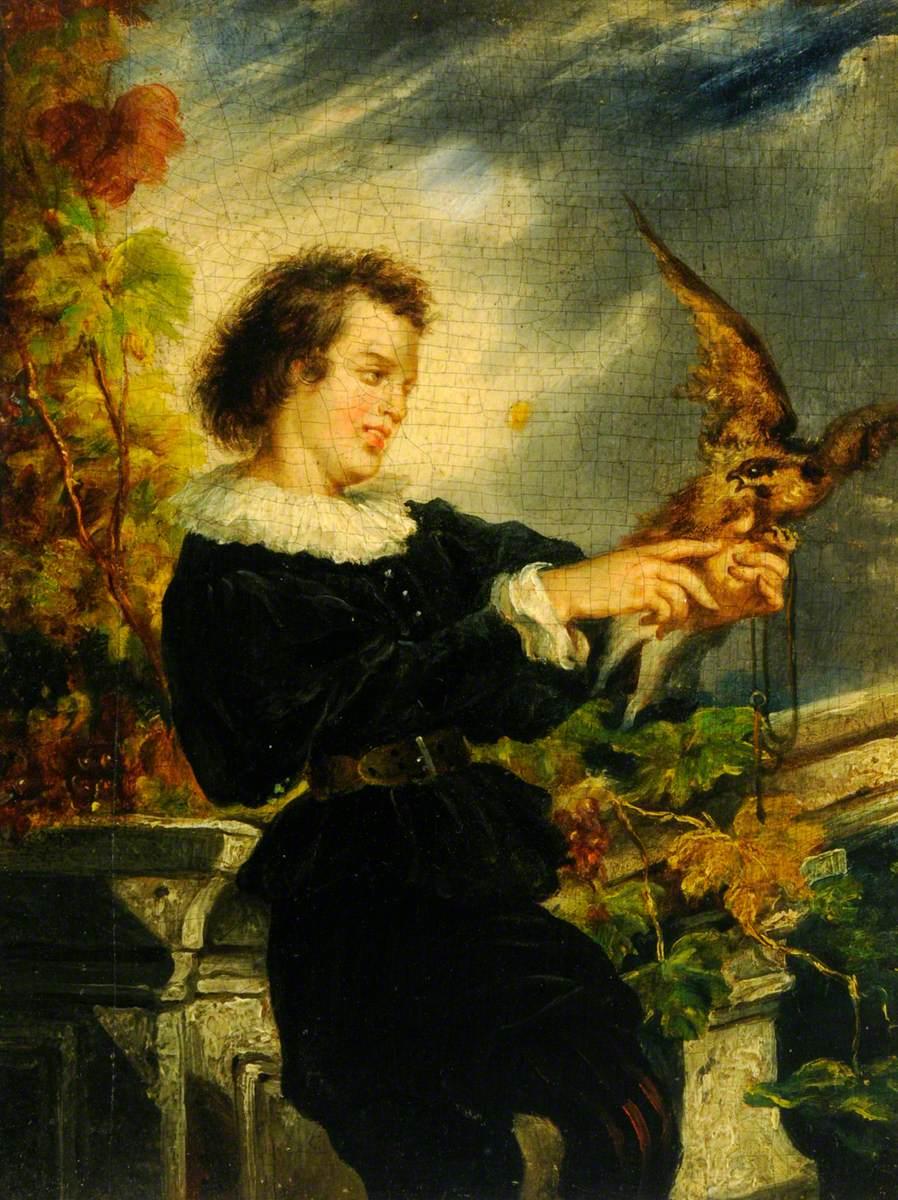 Boy with a Falcon