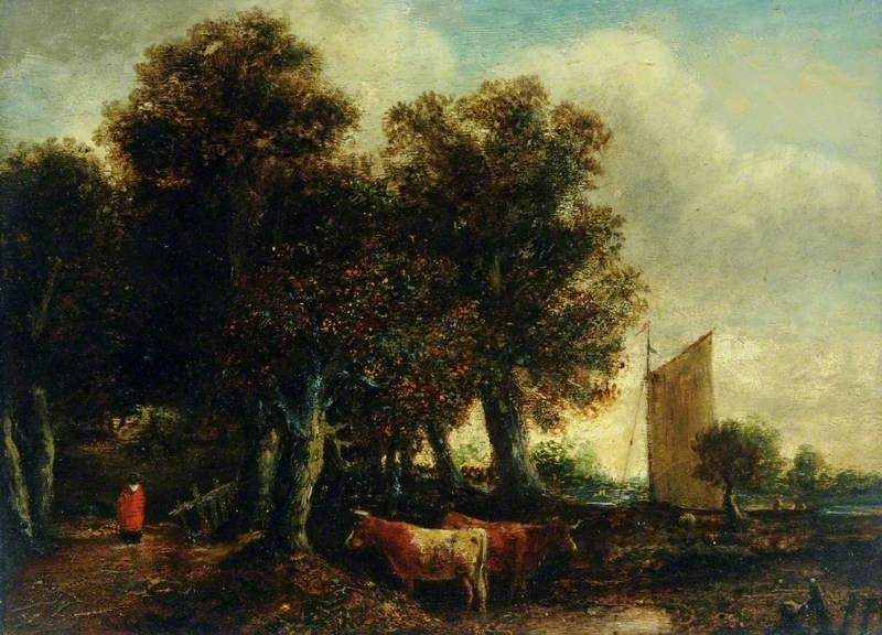 A View near Thorpe, Norwich, Norfolk