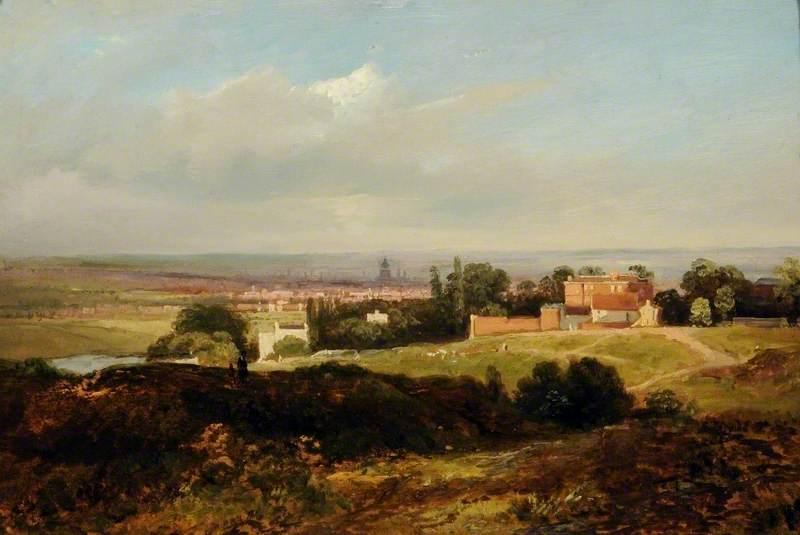A View of Hampstead Heath, London