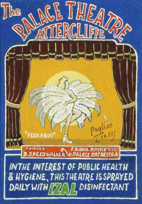Palace Theatre, Attercliffe, Advertisement