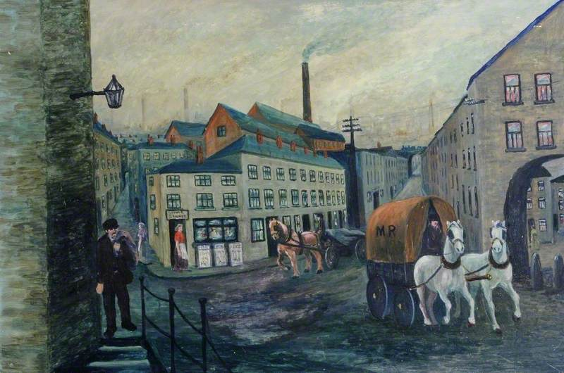 Street Scene, East End, Sheffield