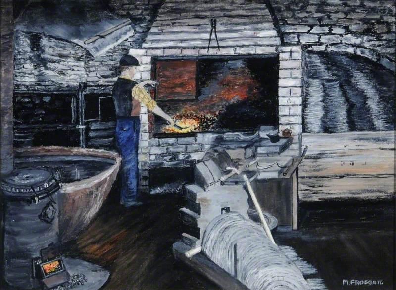 Sickle and Hook Maker, Unstone Mills