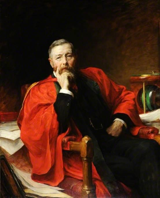 Professor William M. Hicks (1850–1934)