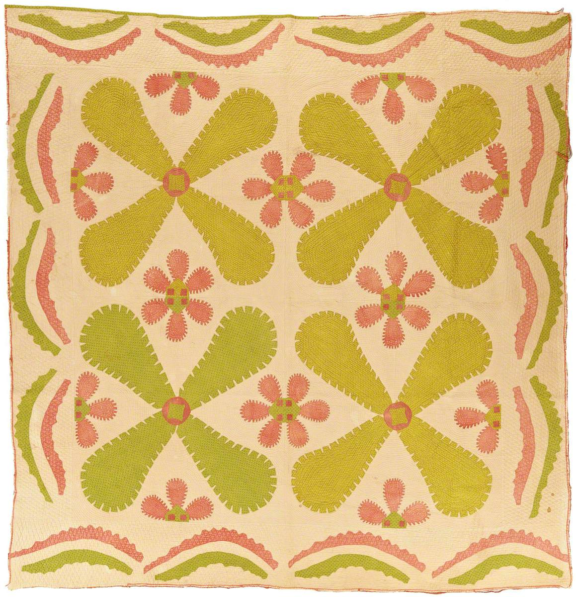 Princess Feather (Propellers) Quilt