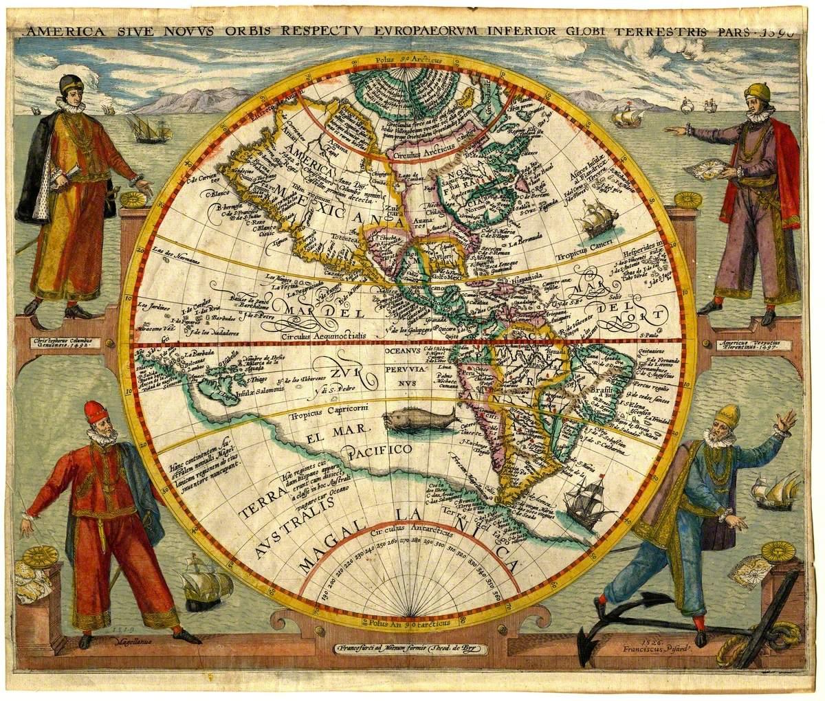 America sive Novus Orbis (America or the New World)