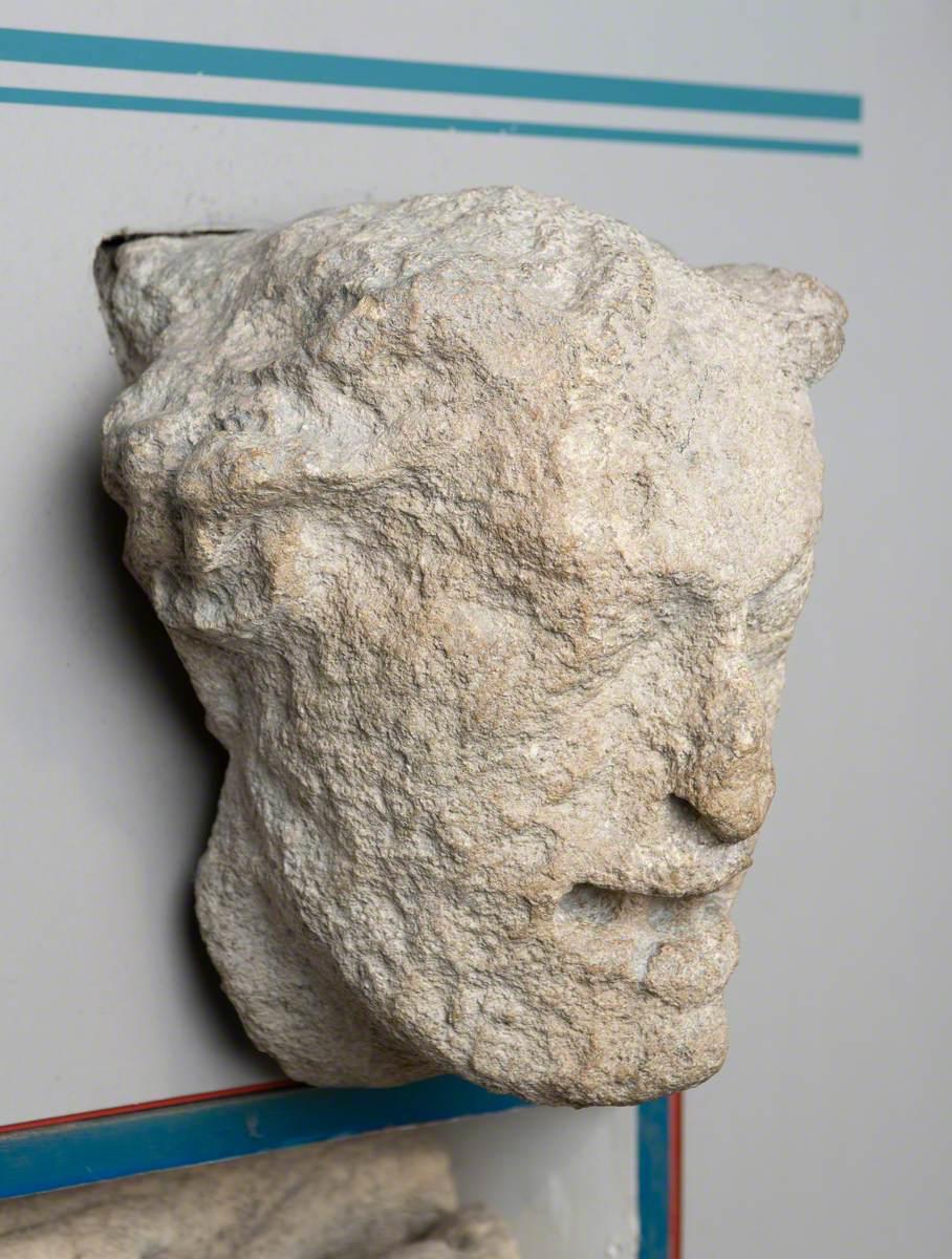 Grotesque Head Keystone
