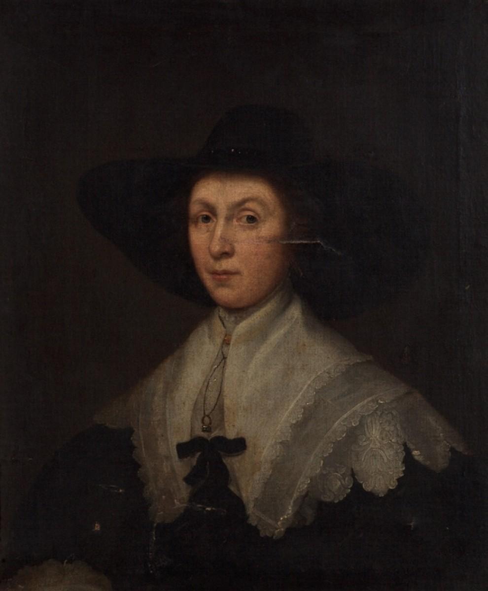 Portrait of an Unknown Lady in Black