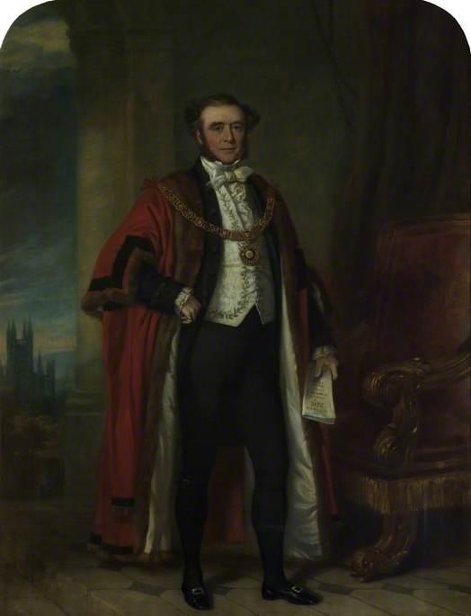 Frederick Dowding (1795–1861), Mayor (1849–1850)