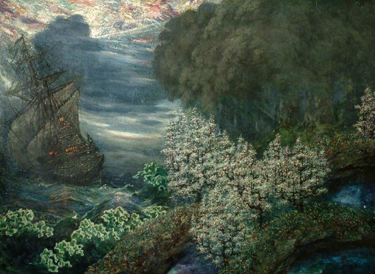 Landscape with Ship