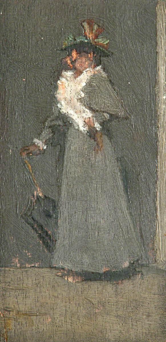 Figure of Lady in Grey