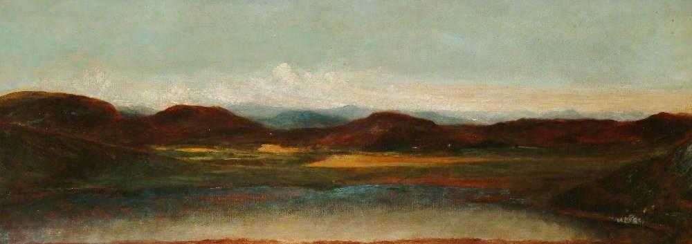 Invernesshire Landscape (Loch Ruthven)