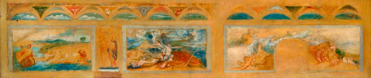 Study for Carlton House Terrace Frescoes
