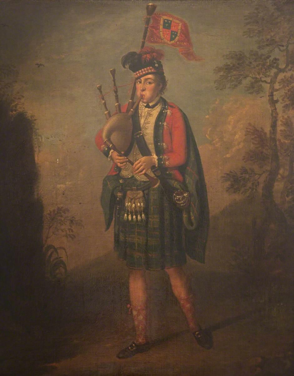 Alan McDonald (1726–1796), Piper to Archibald Montgomerie, 11th Earl of Eglinton