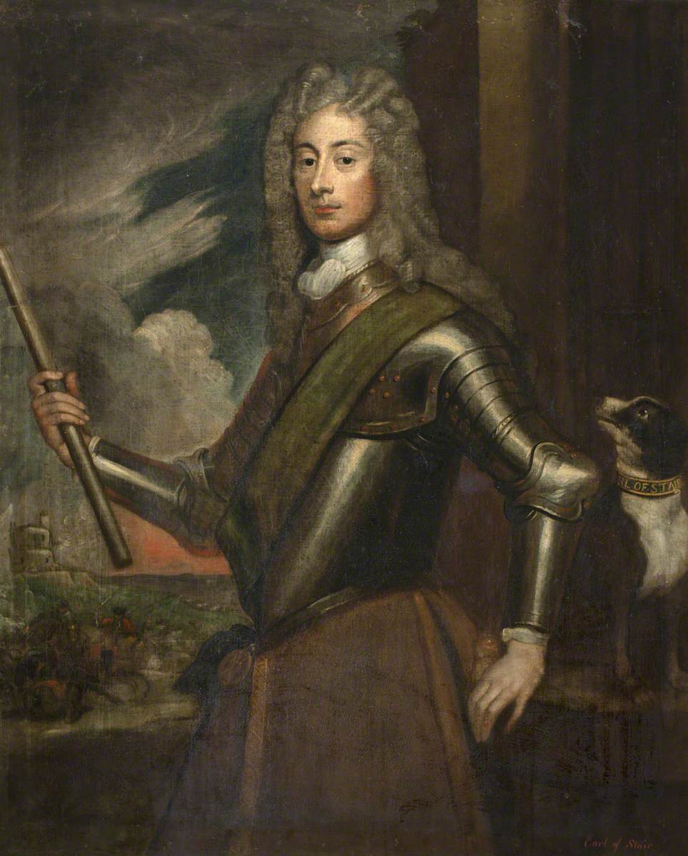 Field Marshall John Dalrymple (1673–1747), 2nd Earl of Stair, KT