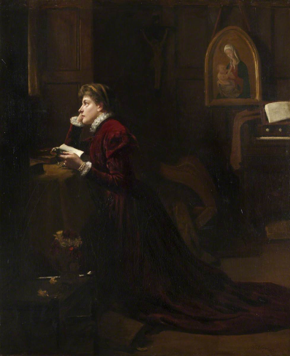 Mary, Queen of Scots, at Prayer