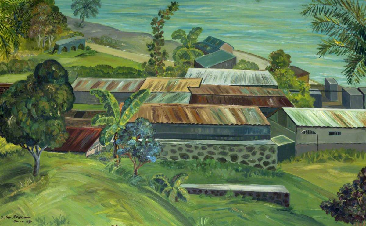 Landscape with Rooftops, Grenada