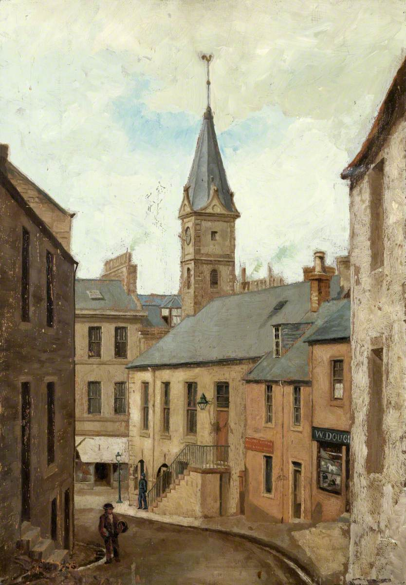 Cross Wynd, towards Old Town Hall