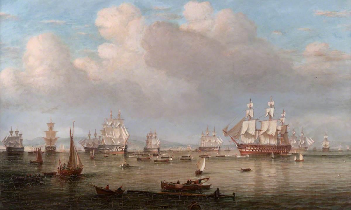 The Channel Fleet off Greenock