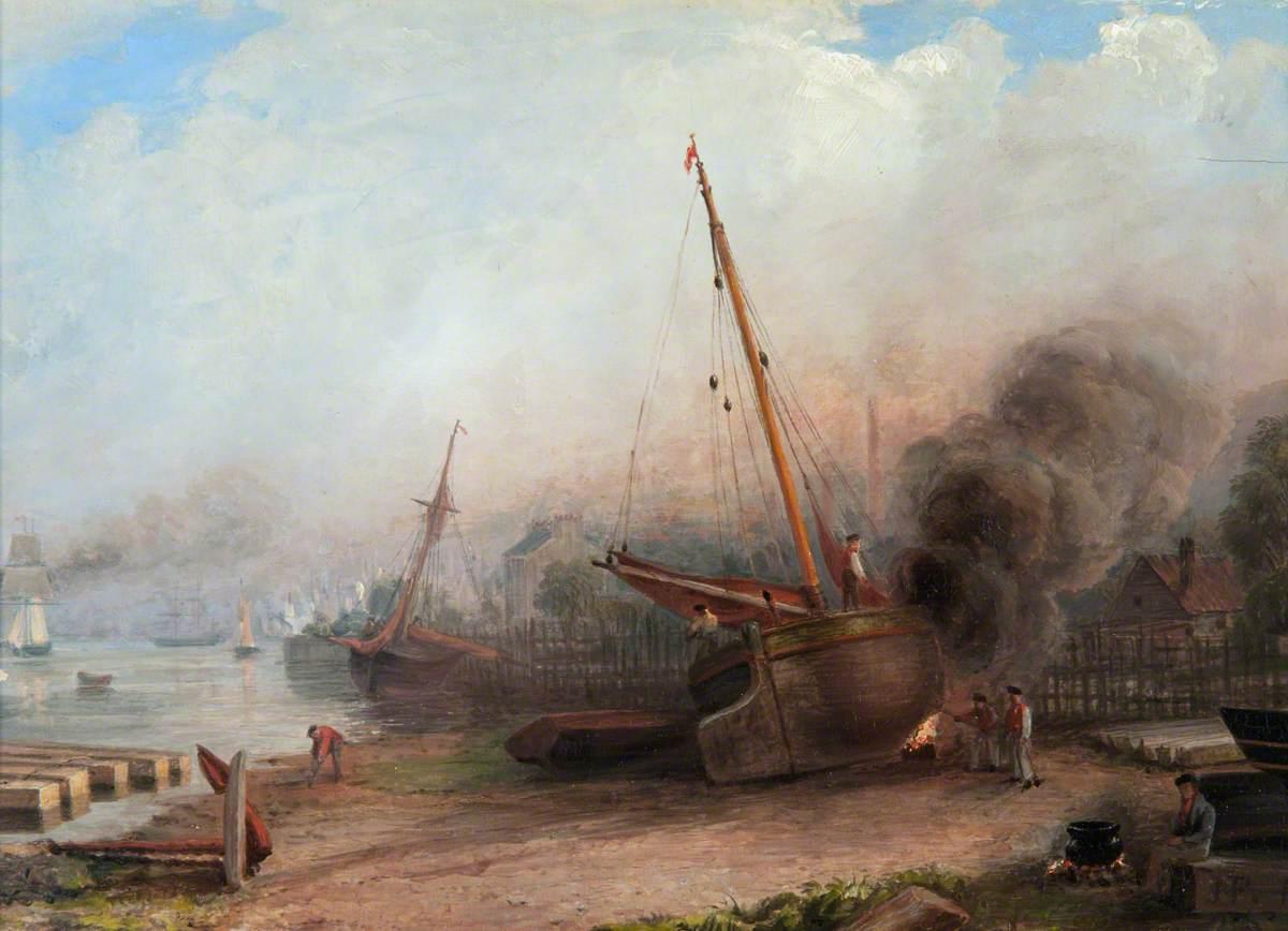 Burning the Bottom, Bay of Quick, Greenock