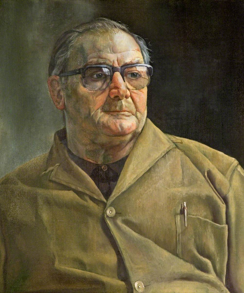 Portrait of the School Caretaker