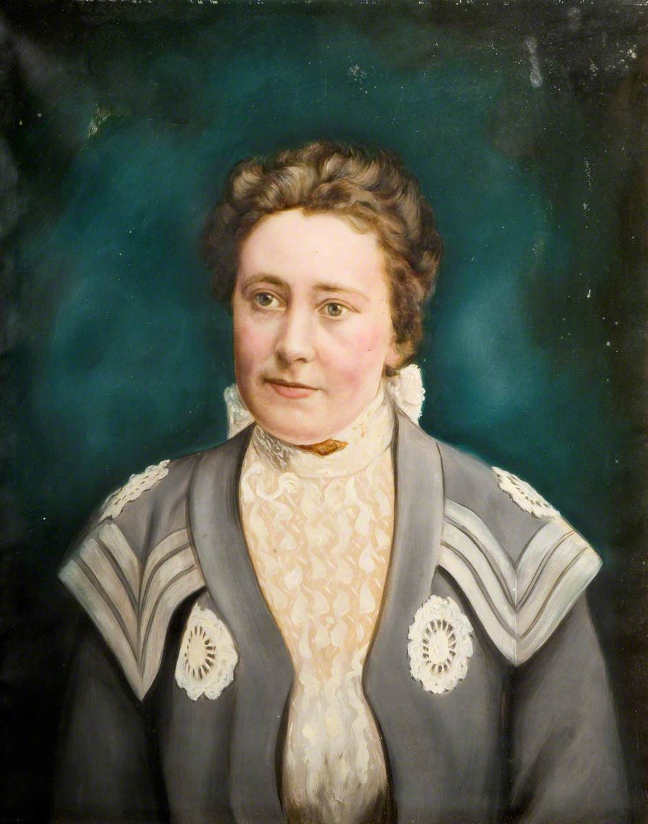 Portrait of a Staffordshire Policeman's Wife
