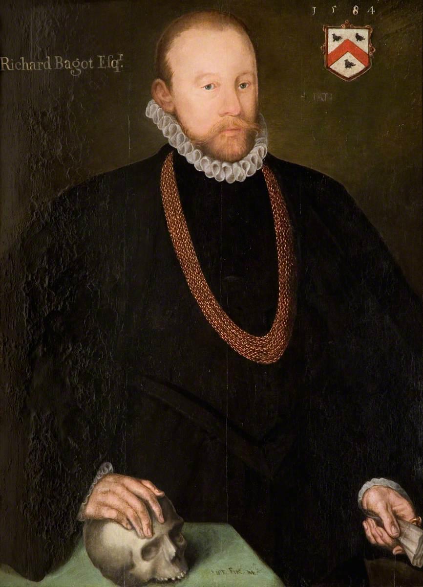Sir Richard Bagot (c.1530–1597)