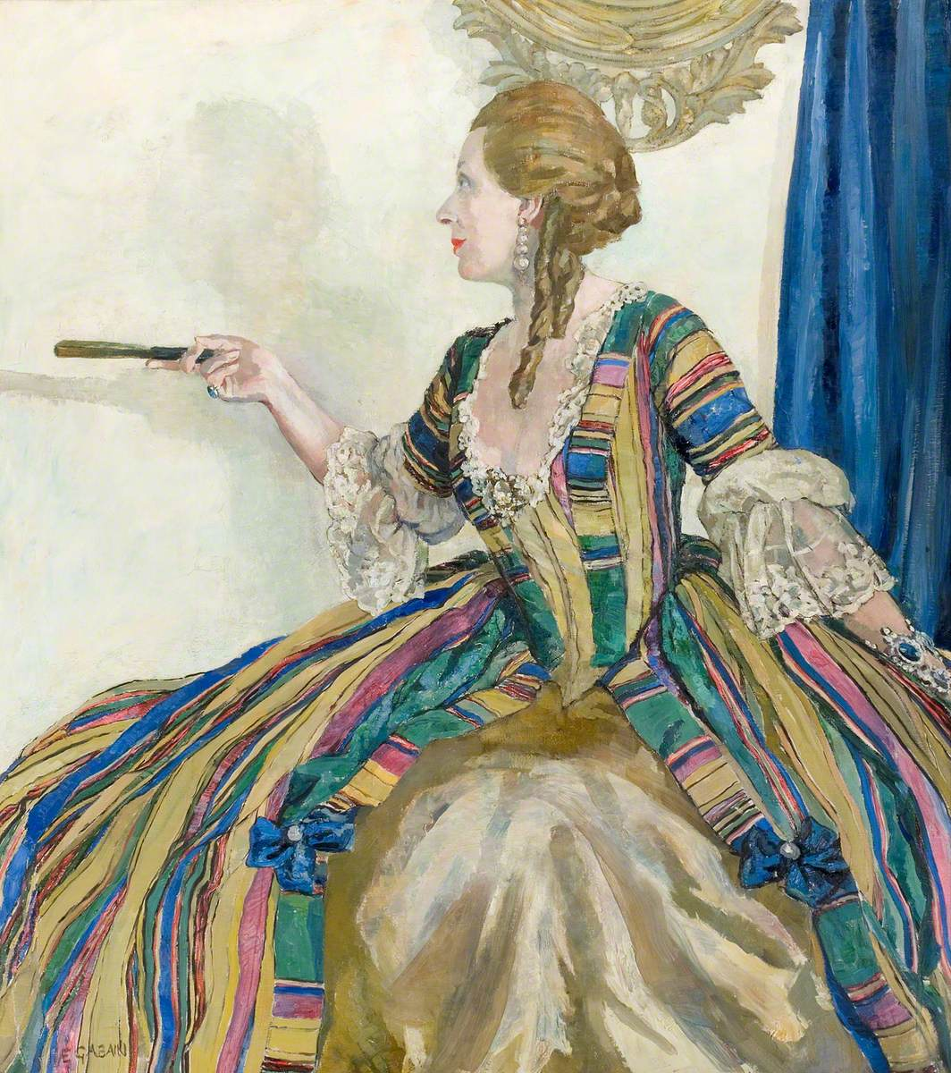 Miss Edith Evans in a Restoration Comedy