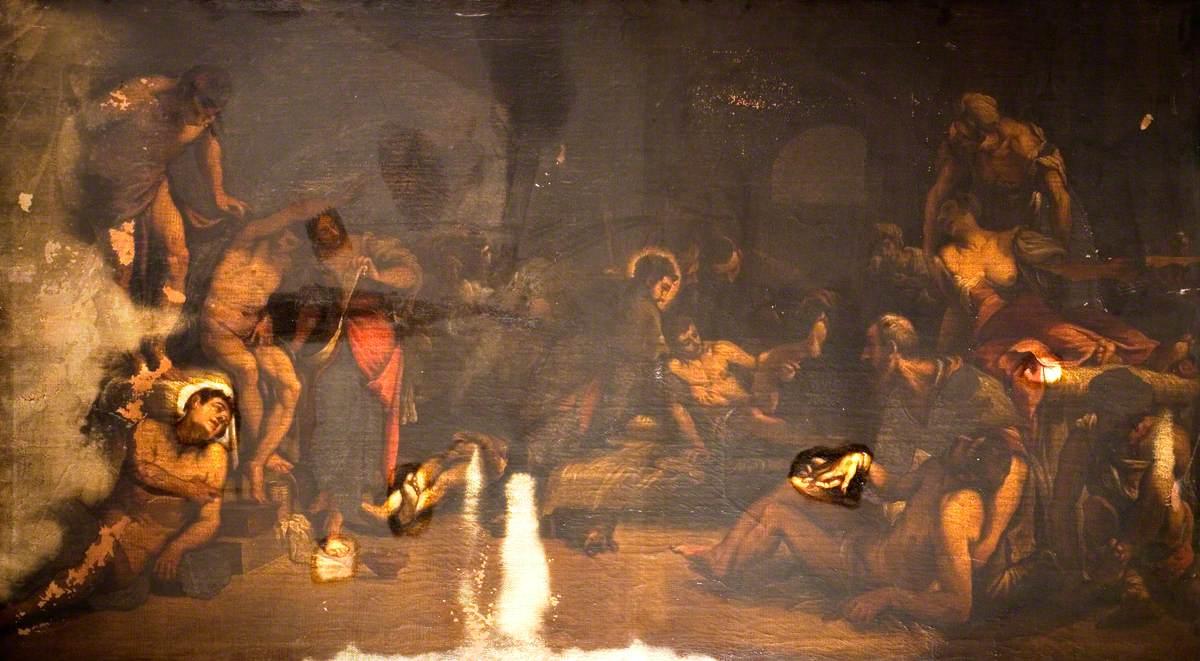 Saint Roch Curing the Plague