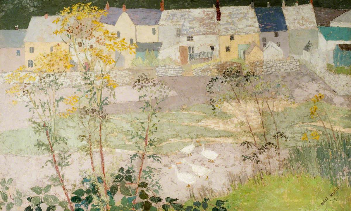 Cottages, Old Fishguard