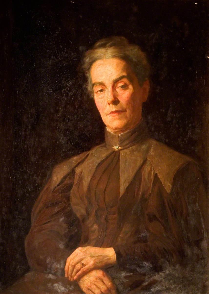 Miss Annie Sneyd Falkner (Mrs Willets)