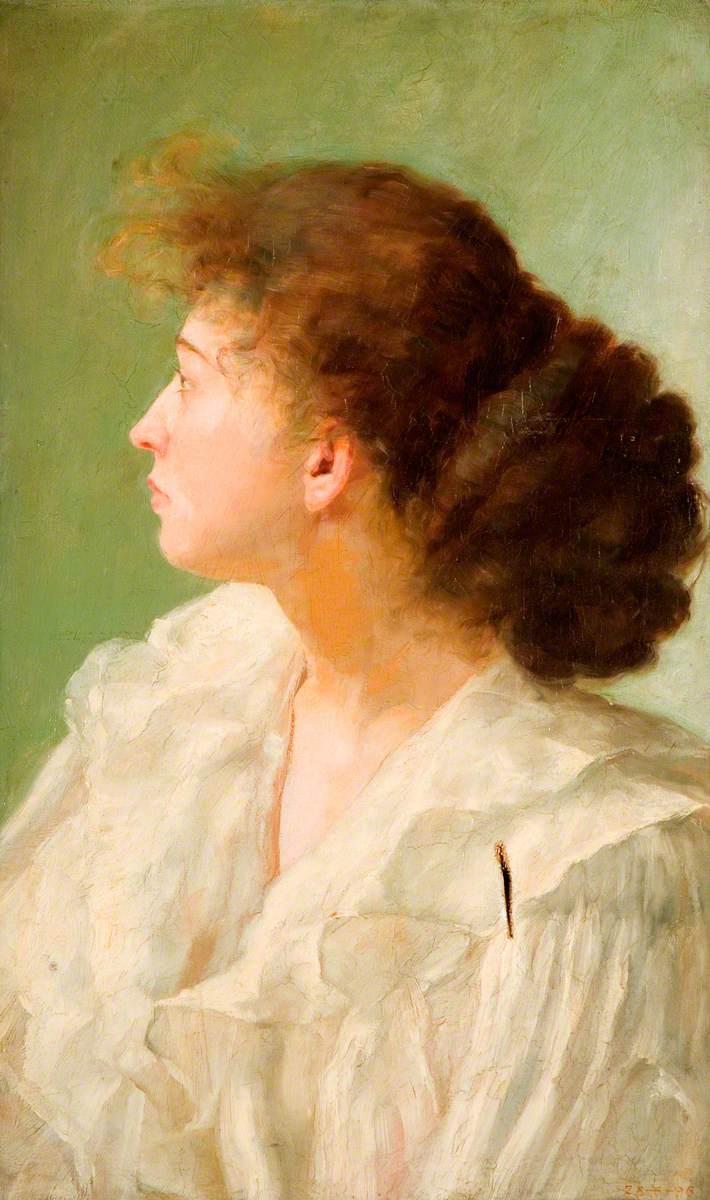 Mrs Alfred Leese, Aunt to George Cartlidge