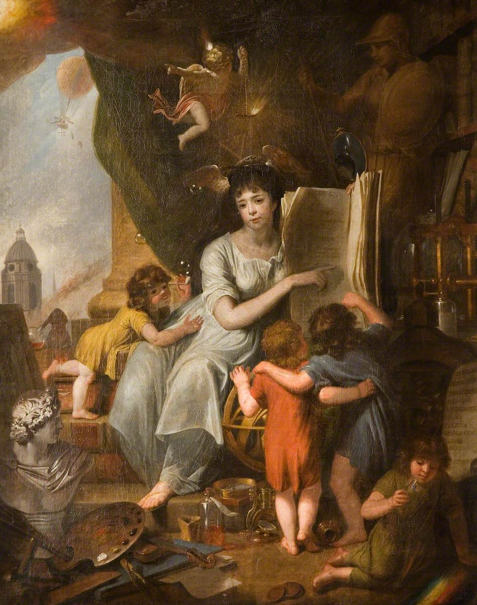 Allegory of Wisdom and Science