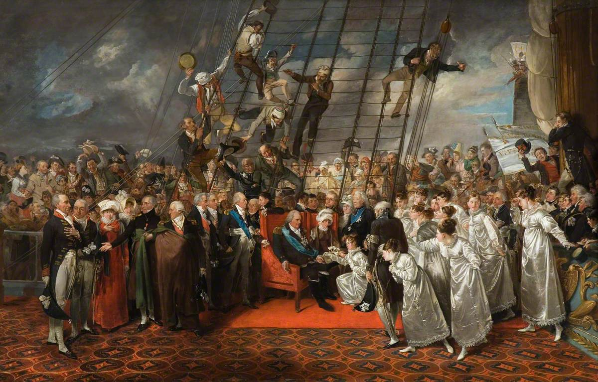 The Arrival of King Louis XVIII of France at Calais