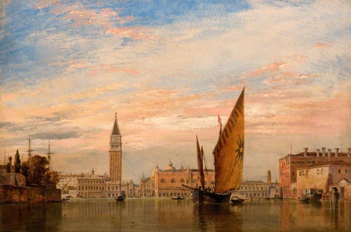 On the Bacino di San Marco, Venice