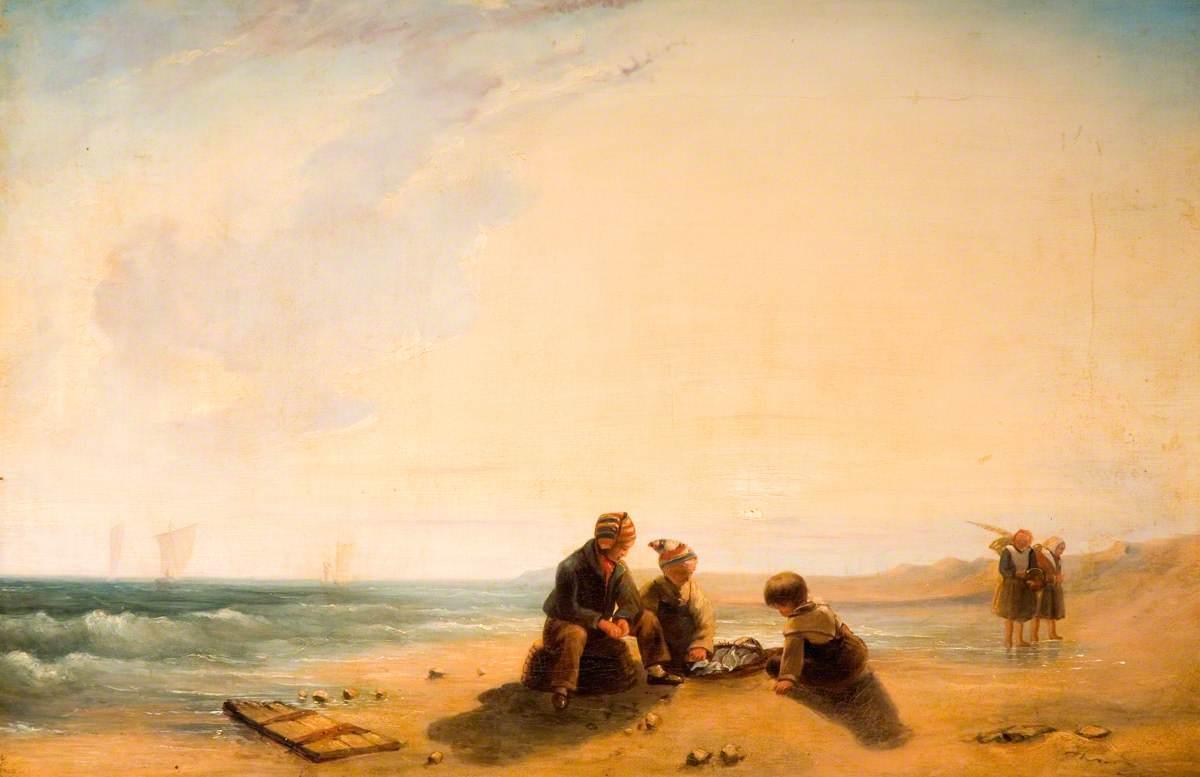 French Coast Scene