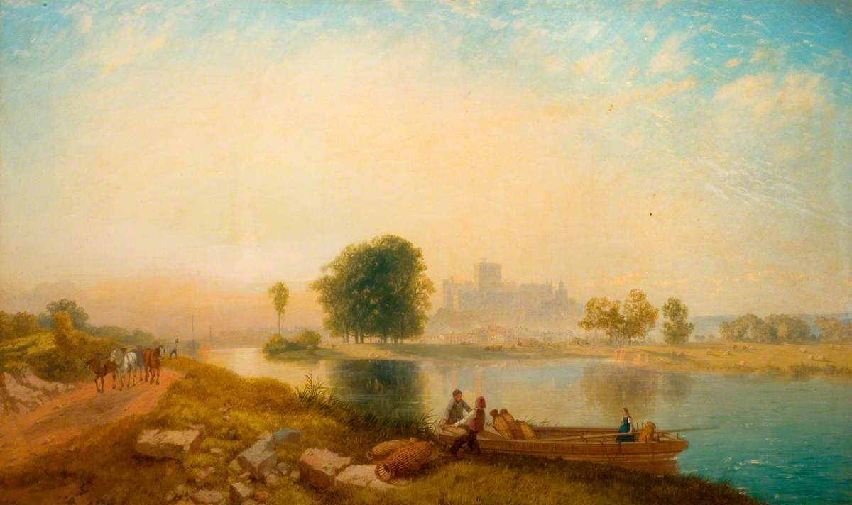 Windsor Castle, Morning