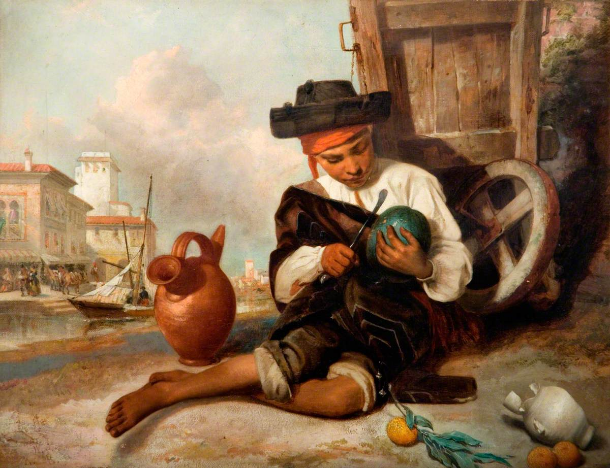 The Melon Seller