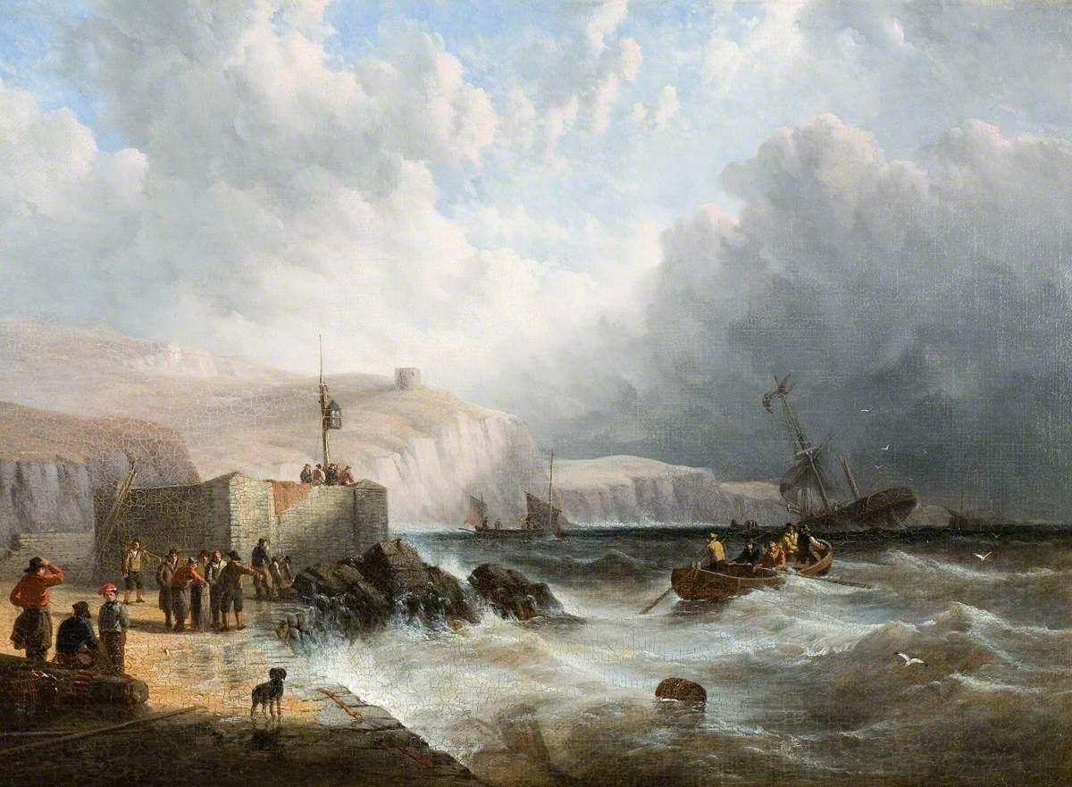 Wreck off Folkestone