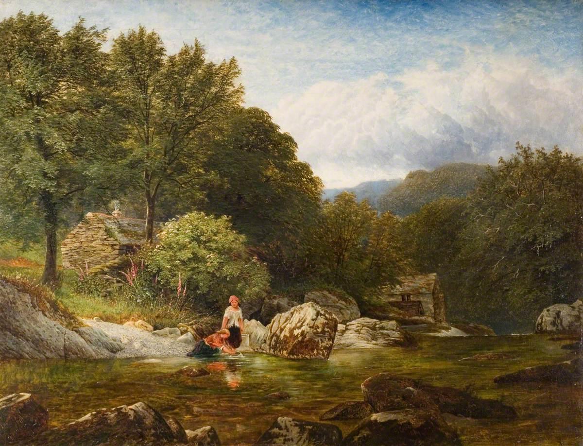 On the River Lledr