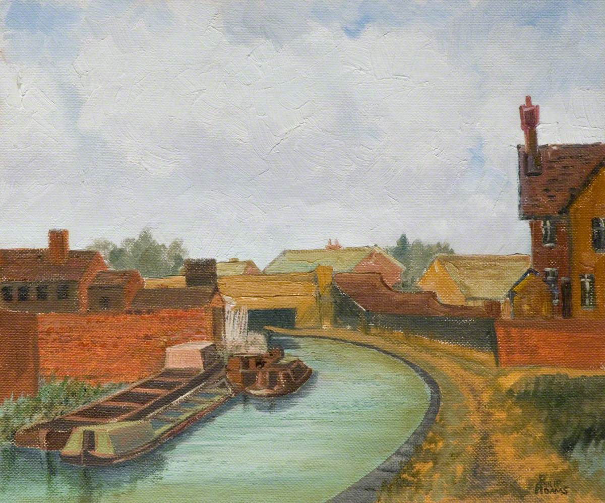 Canal at Pratts Bridge, Leamore, Walsall