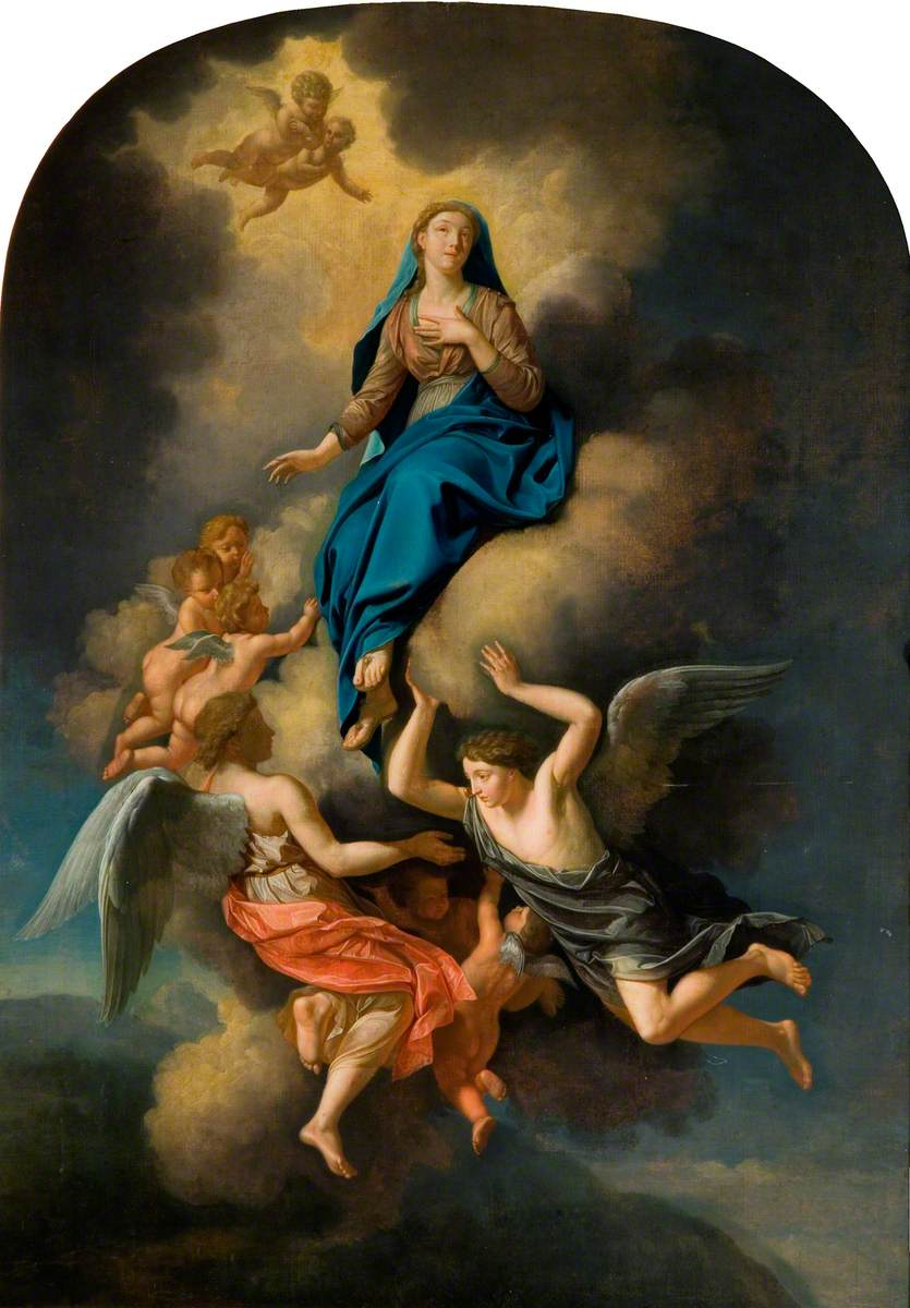 The Ascension of the Virgin into Heaven