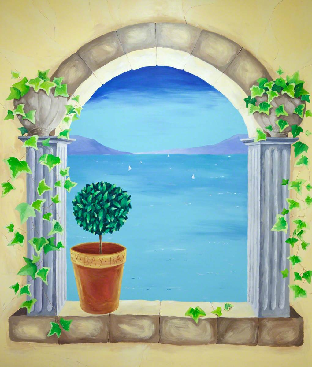 Window View of Sea
