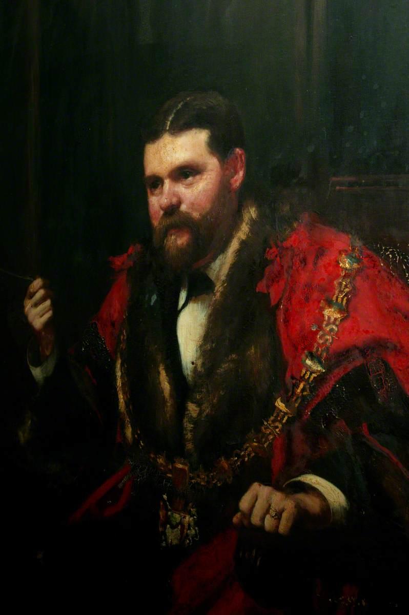 William Williams, JP, MP, Mayor of Swansea (1884)