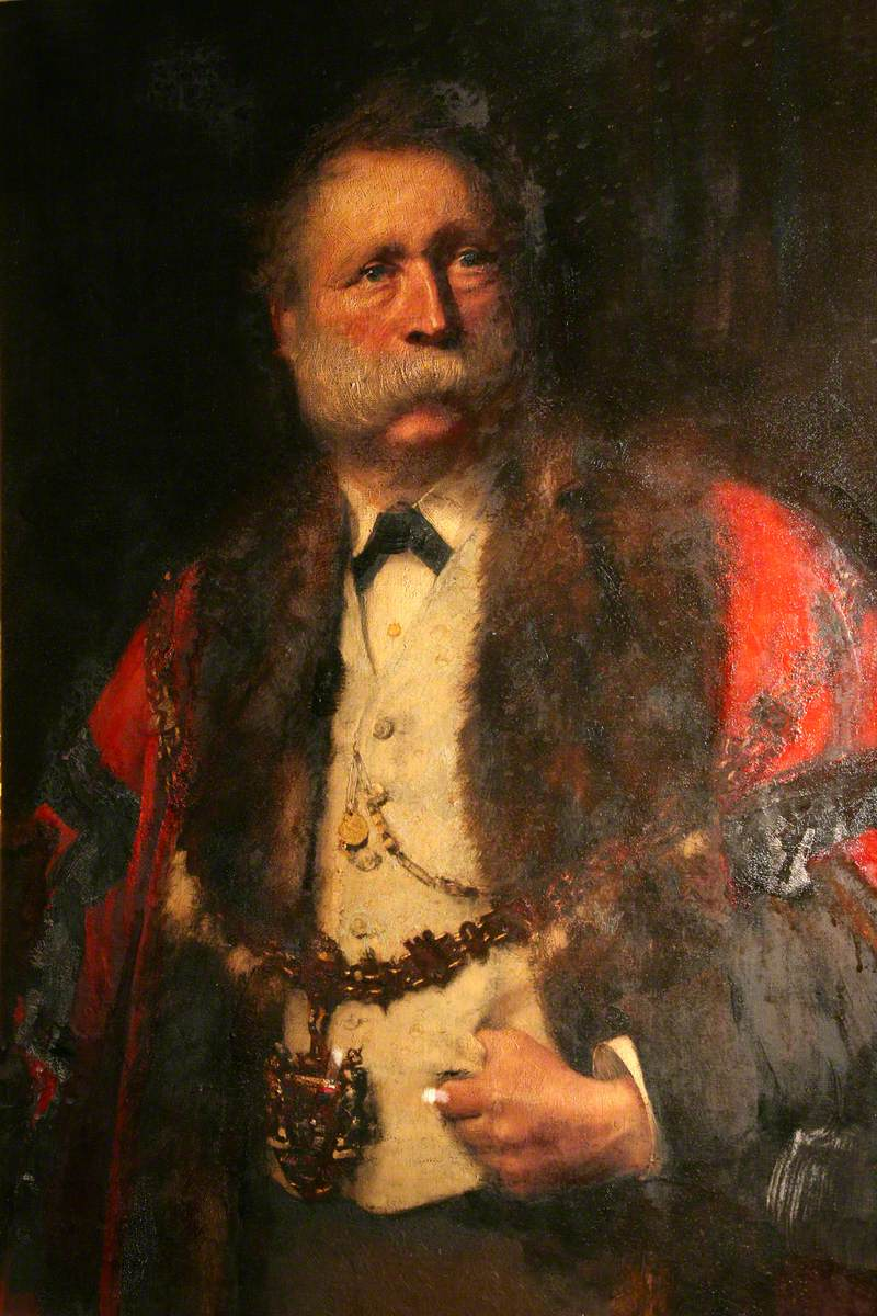 William Thomas of Lan, JP, Mayor of Swansea