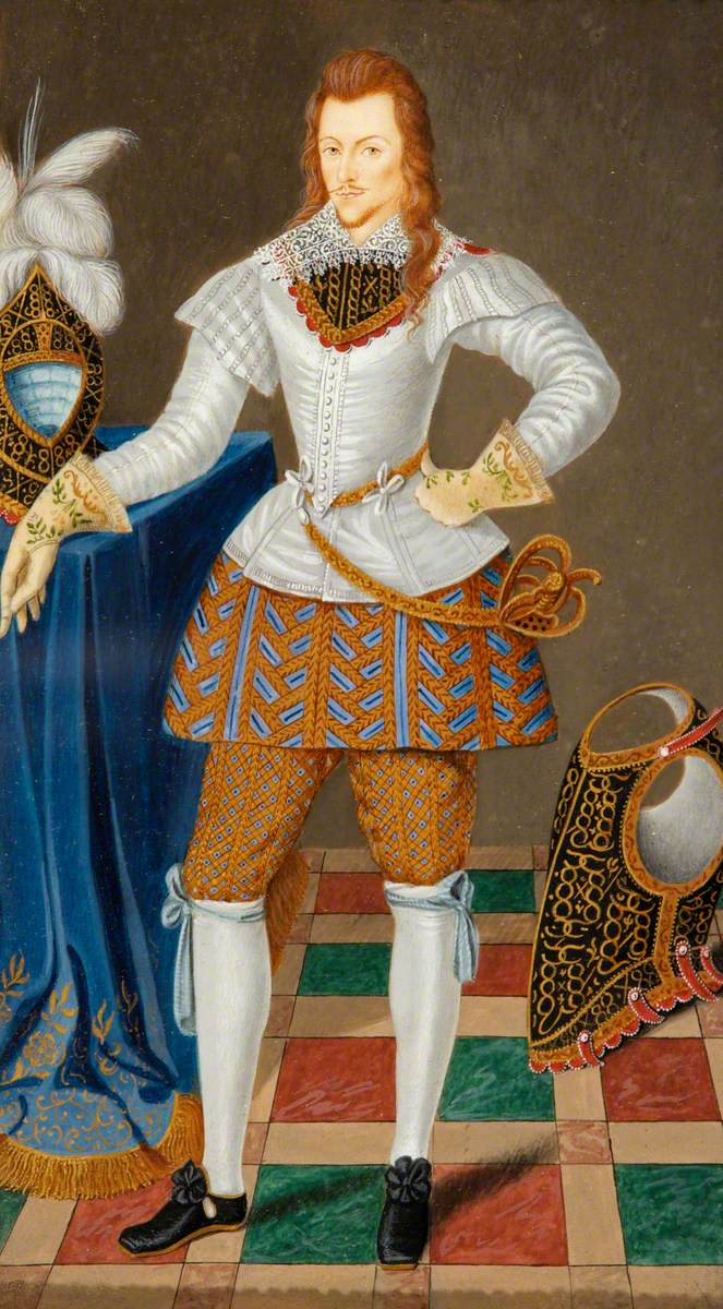 Henry Wriothesley (1573–1624), 3rd Earl of Southampton, the Patron of Shakespeare