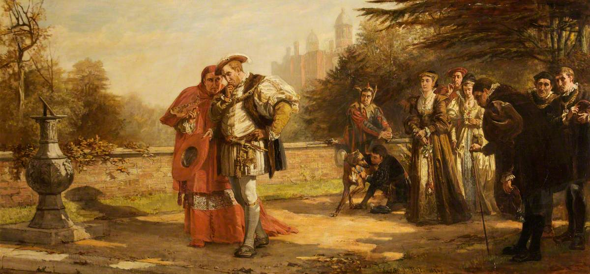 The Dismissal of Cardinal Wolsey