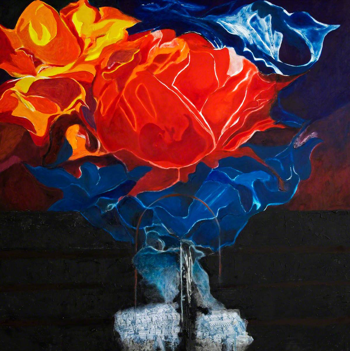 Rhosyn Tywyll (Dark Rose): Land Aberfan