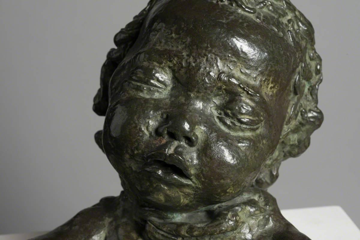 Fourth Portrait of Peggy Jean (Asleep)
