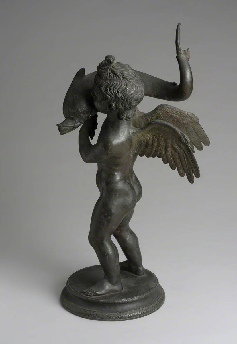 Cupid with Dolphin