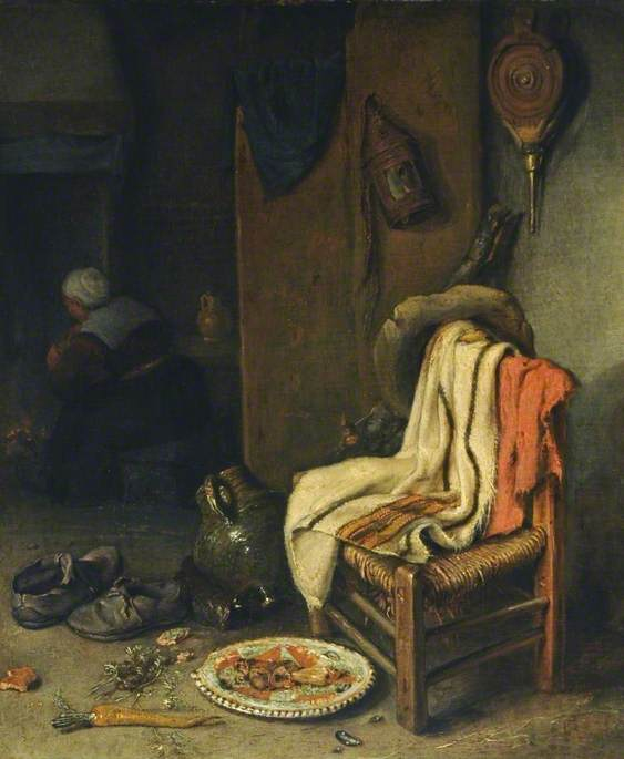 Domestic Interior with Still Life